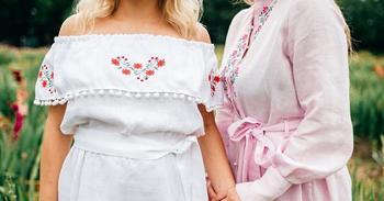 Стильные льняные платья
