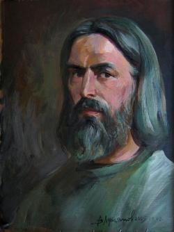 Старые улицы Москвы. Художник Виктор Лукьянов