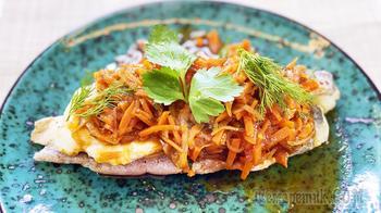 Рыба под маринадом - хек в томатном соусе | Такую рыбу хочется есть каждый день!