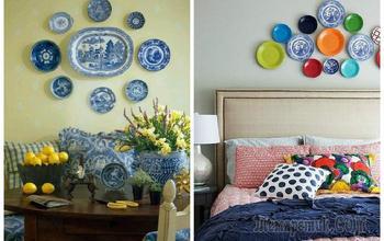 Тарелки на стенах: идеи декора, которые сделают интерьер интересным