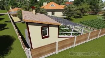Гелиотеплица Иванова – как построить солнечный вегетарий своими руками
