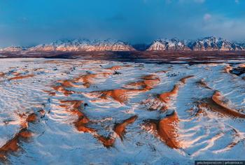 Чарские пески – самая северная пустыня в мире