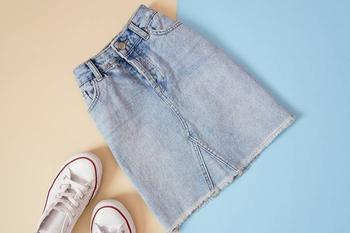 Как переделать старые джинсы в модную юбку для дочки: подробный мастер-класс