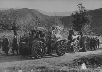 Pavesi P4 — танк на колесах времен Первой мировой войны