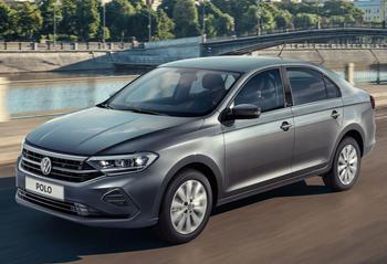 Volkswagen Polo 2021: бюджетный автомобиль европейского уровня в кузове «седан»