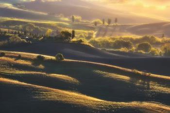 Удивительная холмистая земля: Тоскана глазами фотографа Рафала Канишевского