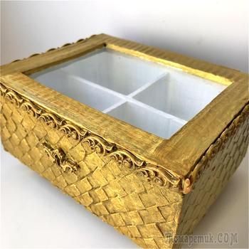 DIY Коробка из картона своими руками | Идея из картона | Декор коробки