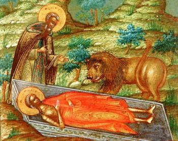 Преподобная Мария Египетская: факты церковного предания