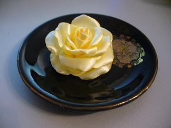 Роза из атласа. Мастер-класс