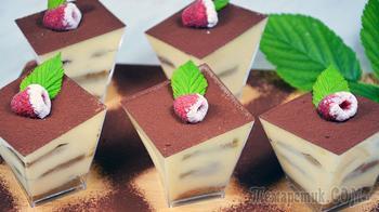 Классический Рецепт Тирамису (в стаканчиках)