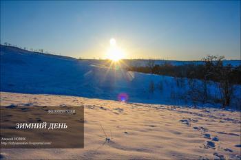 Фотопрогулки.   Зимний день