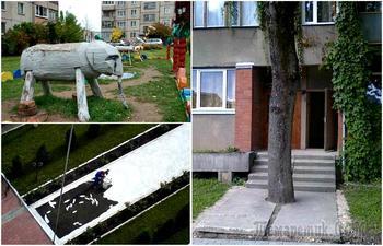 18 убойных фотографий из жизни работников жилищно-коммунального хозяйства