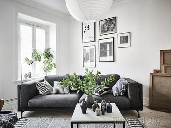 Светлая квартира для творческого человека