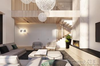 Просторный интерьер Modern House