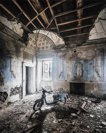 Эстетика заброшенных мест
