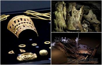 Золото сарматов и артефакты майя: 7 впечатляющих археологических находок последних лет