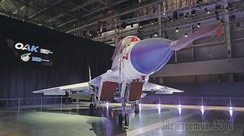 МиГ-35 зависнет в воздухе