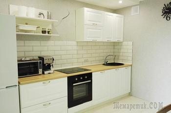 «Ремонт закончили за 3 месяца»: как пара бюджетно обустроила свою квартиру