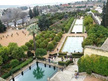 Сады и парки мира... Королевские сады Алькасар