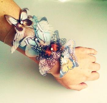 Потрясающие украшения из бабочек. Это нечто!