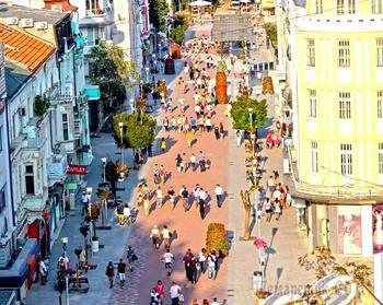 Болгарское побережье Черного моря 23. Варна – главная болгарская здравница