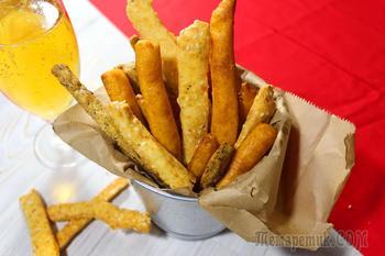 Сырные палочки с 3 вкусами- самая простая и вкусная закуска