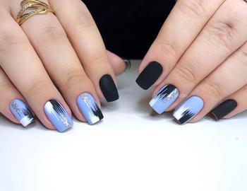 Дизайн мазки кистью на ногтях: 30 сногсшибательных идей