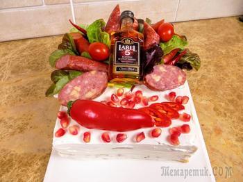 Торт закусочный - Подарочный вариант
