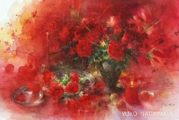 Акварели японской художницы Yuka Nagayama