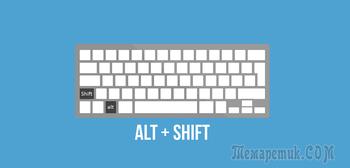 Горячие клавиши для языков ввода и раскладок клавиатуры в Windows 8.1 и 10
