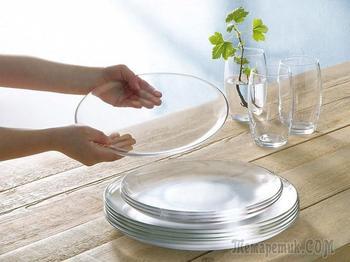 Легкий и эффективный способ мытья стеклянной посуды без разводов и мутных пятен!