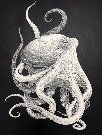 Бумажные шедевры японской художницы Масайо Фукуда (Masayo Fukuda)