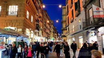 Италия в конце января. 17. Неаполь. По улицам города. 2 часть