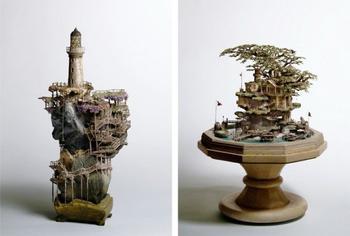 Классные маленькие скульптуры