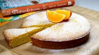Мандариново-миндальный пирог
