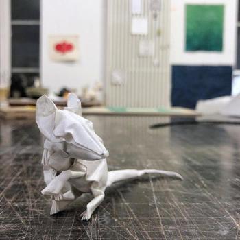Скульптуры в технике оригами