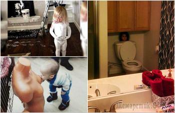 18 позитивных снимков, доказывающих, что с детьми невозможно скучать