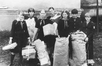 Как в СССР пионеры и взрослые макулатуру собирали, а приёмщики их обманывали
