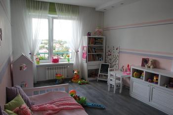 Детская: комната маленькой леди