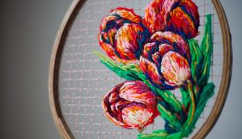 Потрясающая художественная вышивка от Даниэль Клаф