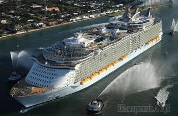 Самый большой корабль во всем мире