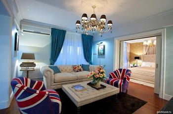 Британская атмосфера в российской квартире