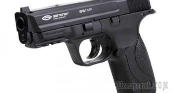 Пневматический пистолет Gletcher SW MP — легкий, компактный, экономный