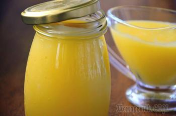 """Лимонный заварной крем """"Курд"""" (Lemon Curd)"""