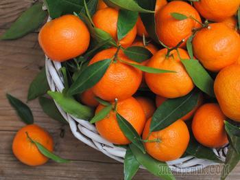 Топ 10 полезных свойств мандаринов для здоровья