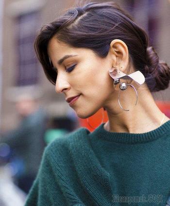 Как носить украшения в холодное время года? (так, чтобы их было видно)