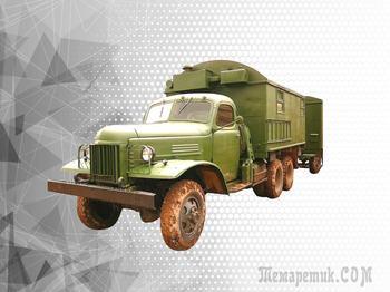 Советский Студебекер: первые зенитные ракеты на грузовиках ЗИС-151