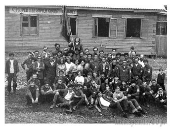 "50 лет назад, в июле 1971 г. родился ""Гимн сибирских отрядов МГПИ""(ст. и муз. А. Васина)"