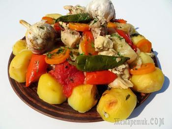 Как меня узбеки научили готовить свое блюдо в духовке / Рецепты Другой Кухни / Басма в духовке