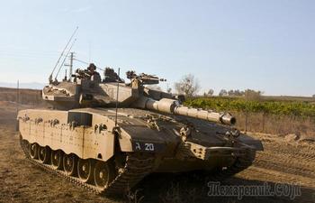 5 особенностей главного танка Израиля, которые делают его неповторимым